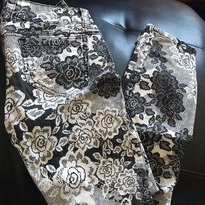 Candies Floral Jeans